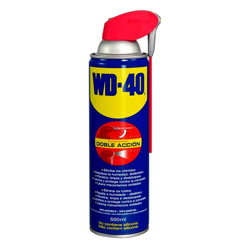 ACEITE WD-40 DOBLE ACCION SPRAY 500ML