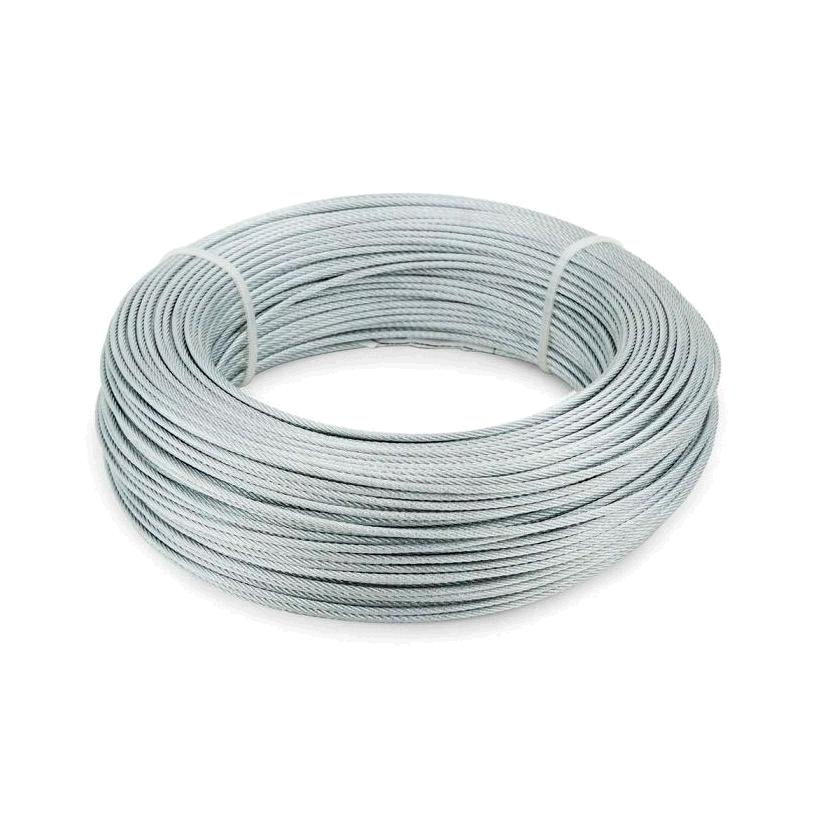 CABLE ACERO GDO 2MM/25MTS.