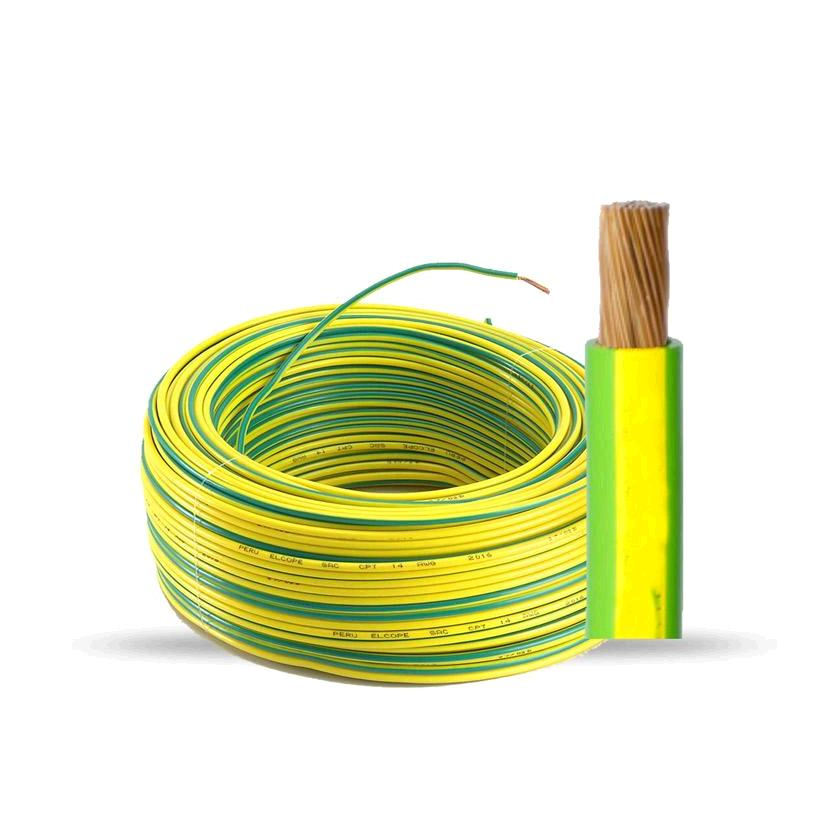 CABLE LINEA UNIPOLAR FLEXIBLE 1.5 AM/VERDE
