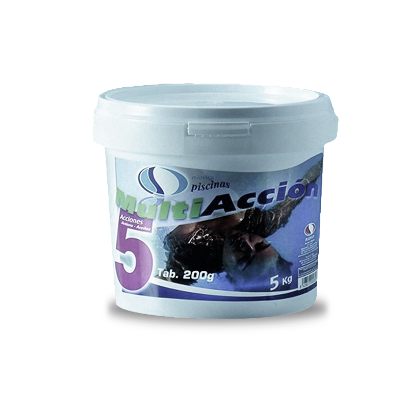 CLORO MULTIFUNCION5 ACC 5KG PISCINA
