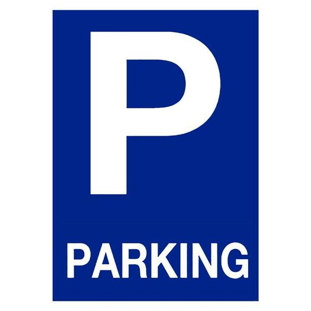 SEÑAL PVC 20X30 PARKING